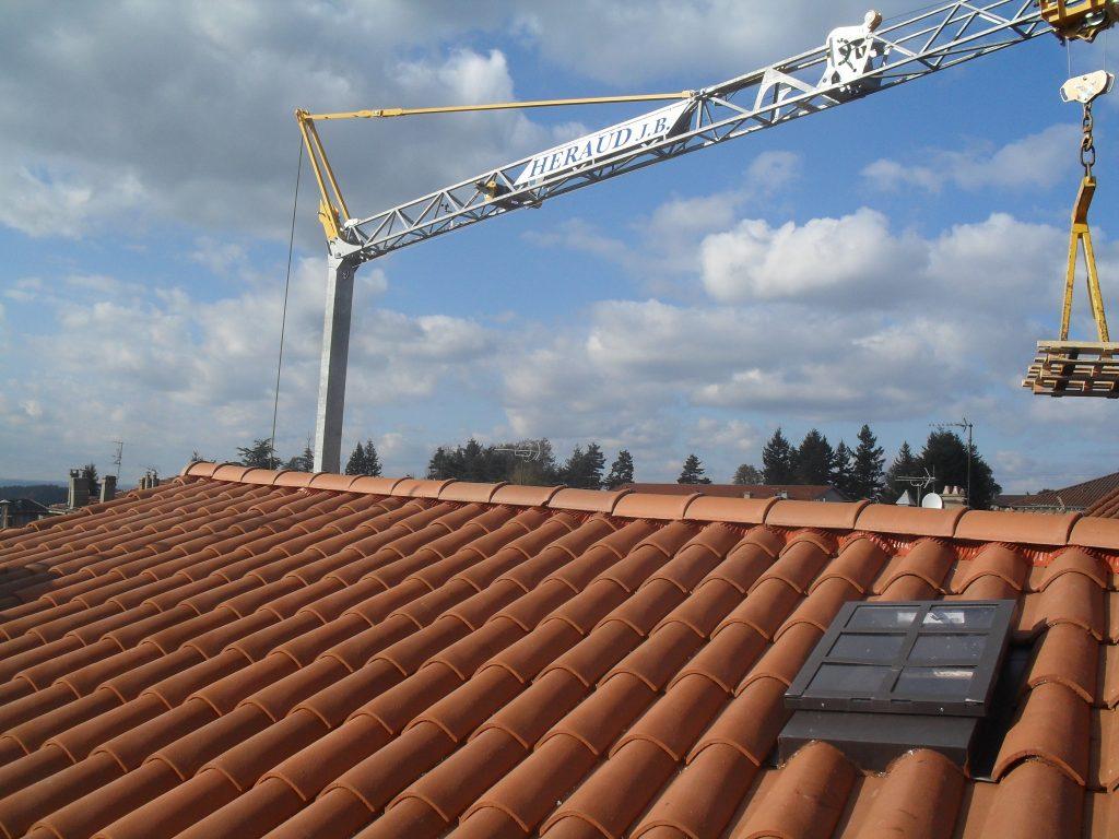 lucarne accés toiture